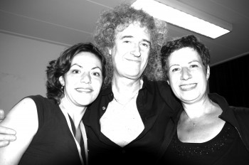 Brian May...artist backstage productions